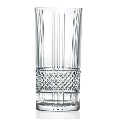 RCR Brilliante Crystal Highball Glass 369ml