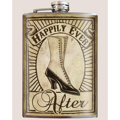 Trixie & Milo Flask - Happily Bride (Boot)