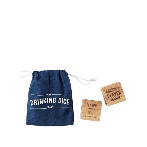 Foster & Rye: Wood Drinking Dice Set