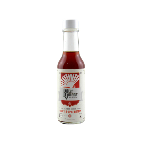 "Bitter Queens ""Shanghai Shirley"" Chinese 5-Spice Bitters 148ml"