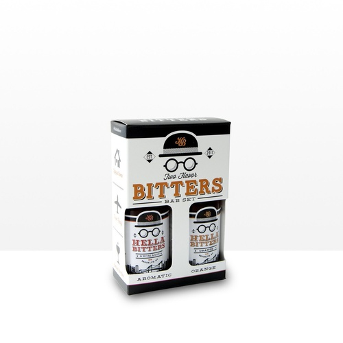 Hella Bitters Salt & Pepper Pack 2 x 48ml