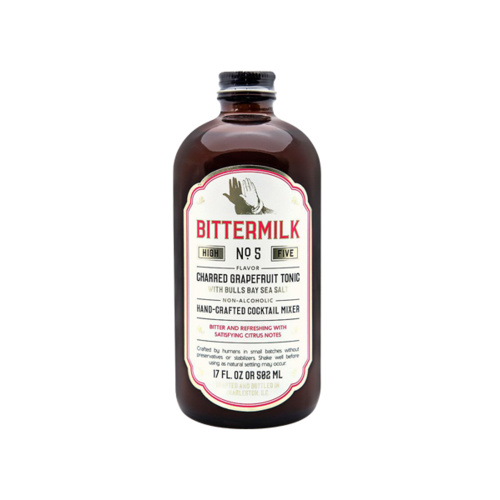 Bittermilk Charred Grapefruit Tonic Syrup 502ml