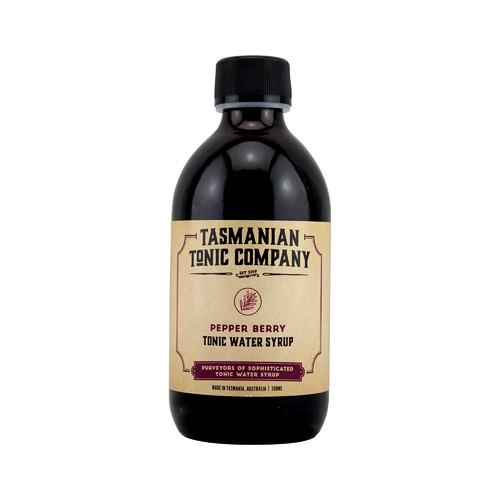 Tasmanian Tonic Company Pepperberry Tonic Syrup 300ml