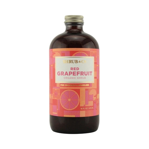 Shrub & Co Red Grapefruit Shrub 473ml