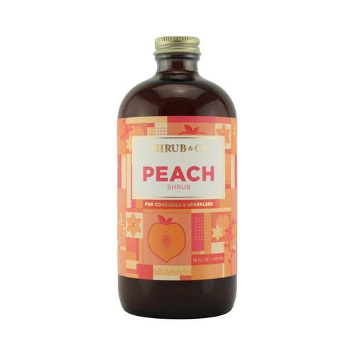 Shrub & Co Peach Shrub 473ml