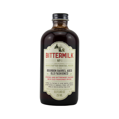 Bittermilk Bourbon Barrel Aged Old Fashioned Syrup 251ml
