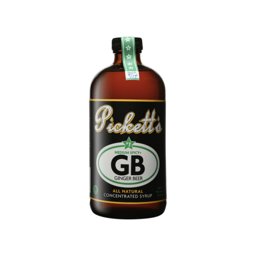 Pickett's Medium Spicy Ginger Beer Syrup 473ml