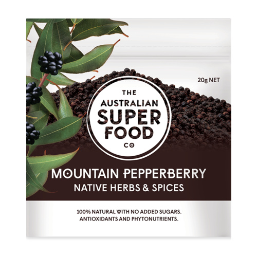 Australian Superfood Co. Mountain Pepperberry 20g