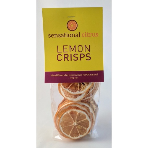 Sensational Fruits Lime Crisps 20g